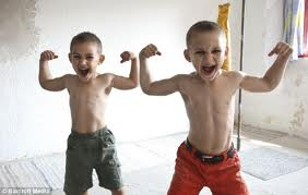 World's Strongest Boy Lifting Weights